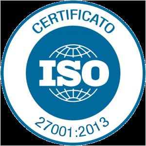 ISO 27001/2013 - Certificato del Sistema di Gestione per la Sicurezza delle Informazioni